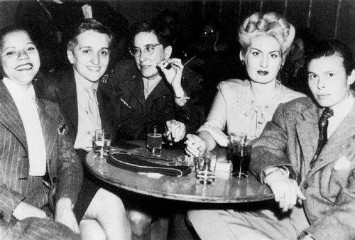 Lesbian bar 1950s