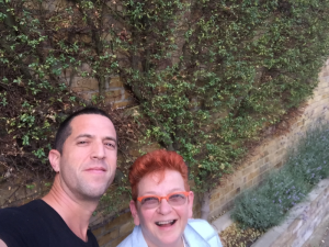 Tomer and me on Yoakley Aug 16