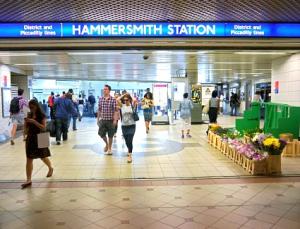 Hammersmith District Tube Station