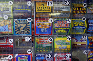 Lottery scratch cards