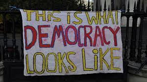 Democracy looks like