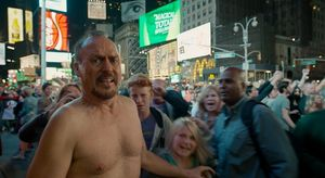 Birdman naked outside