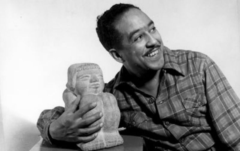 Langston Hughes 1943  by Gordon Parks