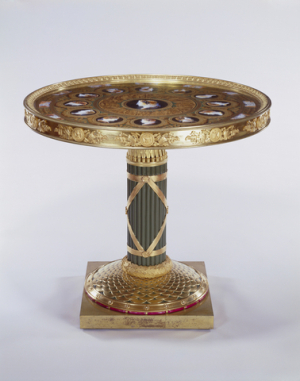 Buckingham Table of the Great Commanders  1806-12