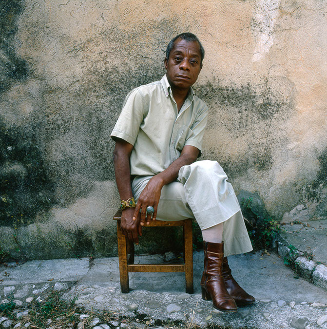 James baldwin full body