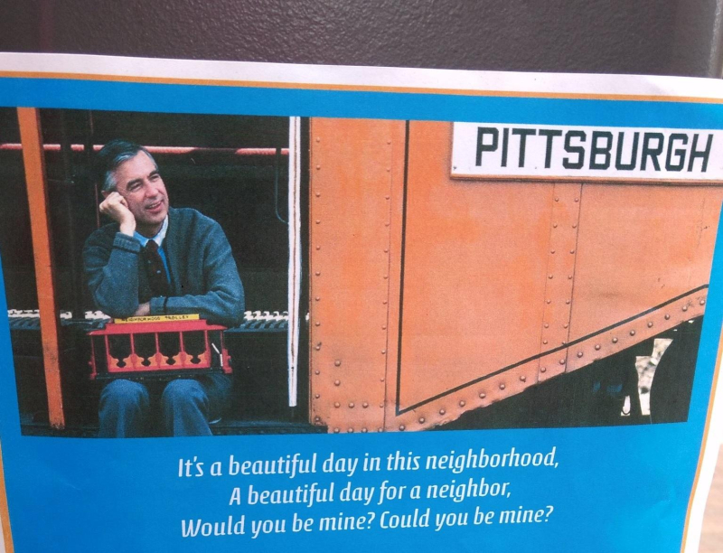 Wont you be pgh poster