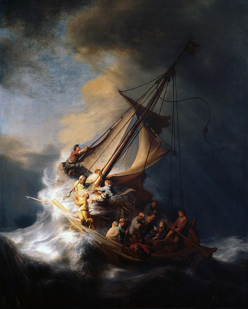 Rembrandt Christ_in_the_Storm_on_the_Lake_of_Galilee