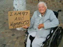 Homeless 97 yrs old