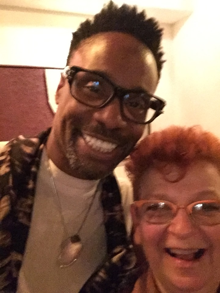 Billy Porter and me