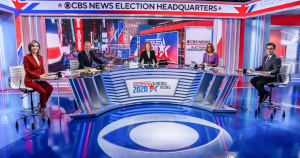 Election coverage cbs