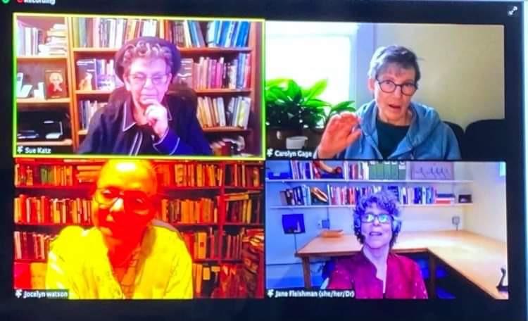 Readout four parel Writing Elders