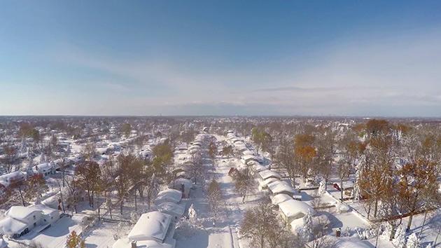 Madeleine snowstorm