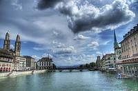 Zurich_limmat_river
